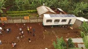طراحی کلاسهای درس خورشیدی در آفریقا