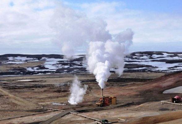 تولید برق پاک از آتشفشان
