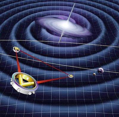 لیسا در تعقیب نظریه اینشتین به فضا رفت