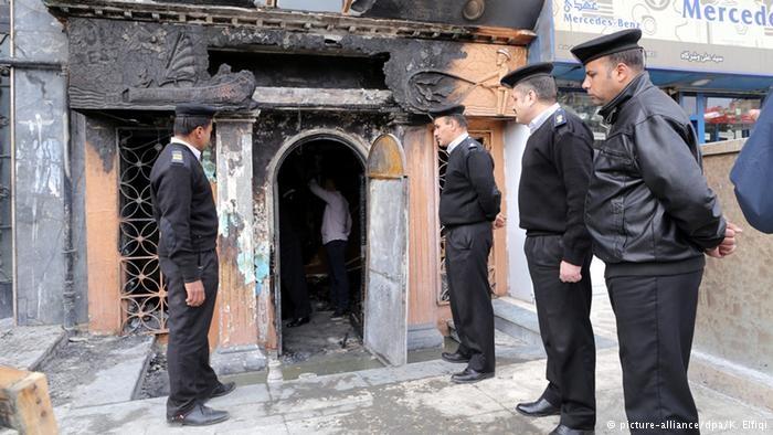 ۱۶ کشته در حمله به یک رستوران در قاهره