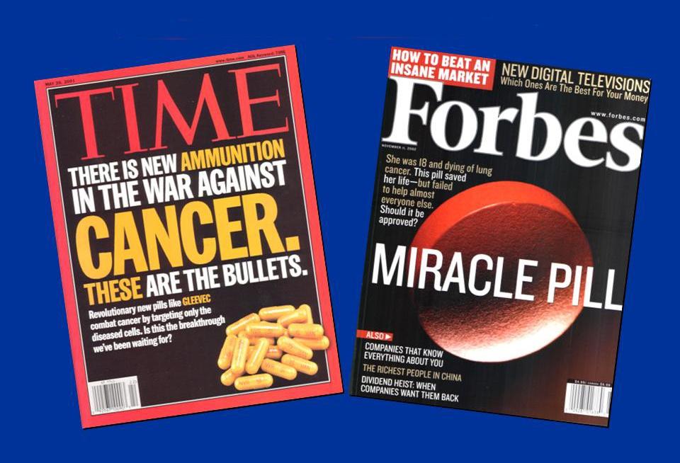 اغراق رسانهها درباره نتایج پژوهشهای داروهای ضد سرطان