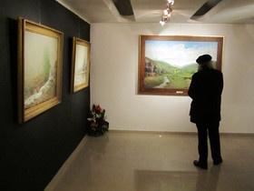 نمایشگاه شوق نگاه با برپایی آثار فخرالدینی
