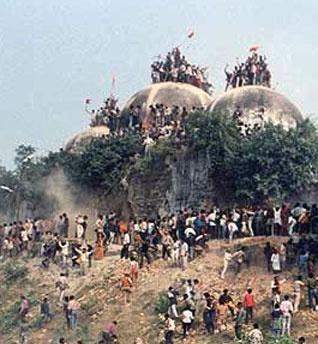 مسلمانان و احزاب هند خواستار بازسازی مسجد بابری شدند