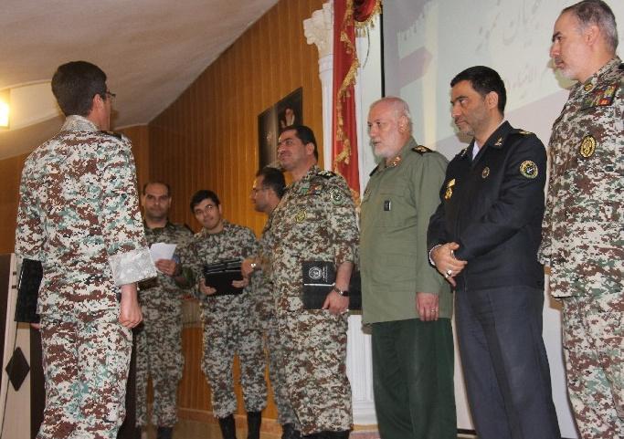 مراسم روز دانشجو در دانشگاه پدافند هوایی خاتم الانبیا(ص) برگزار شد