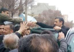 مادر احمدینژاد دارفانی را وداع گفت