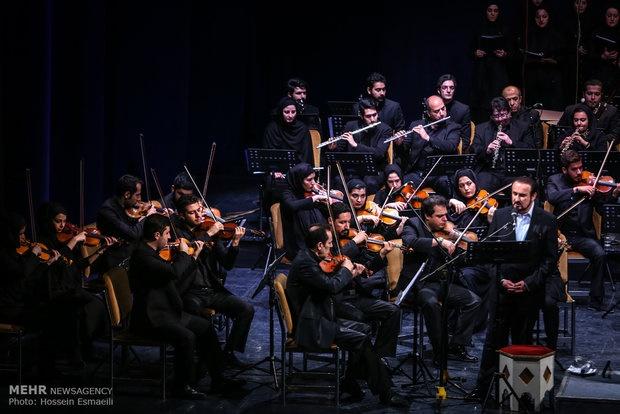 مختاباد کجایید ای شهیدان خدایی را با ارکستر تهران خواند