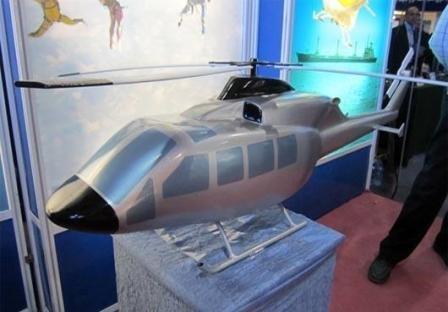 بالگرد ملی ایران با موفقیت پرواز کرد