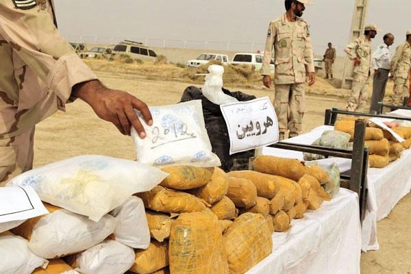 کشف بیش از ۵۰۶تن موادمخدر در ایران