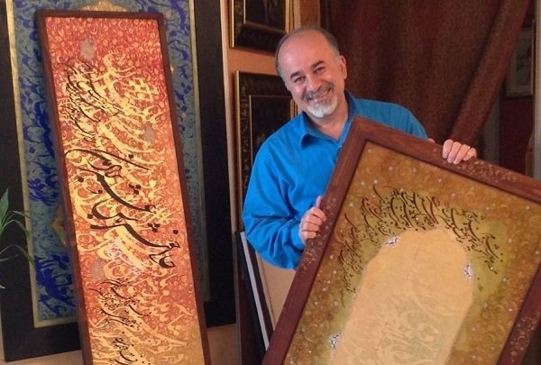 اسرافیل شیرچی: روح من در گرو خوشنویسی است