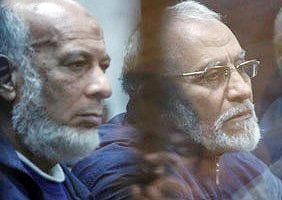 اعلام برای ۴ رهبر اخوانالمسلمین مصر و حبس ابد برای ۱۳تن دیگر