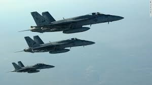 coalition attack against isis