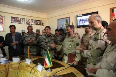 امضاء توافقنامه مشترک مرزی بین ایران و افغانستان