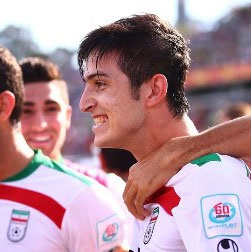 سردار آزمون، زننده زیباترین گل جام ملتهای آسیا