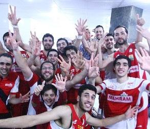 مهرام قهرمان بسکتبال ایران شد