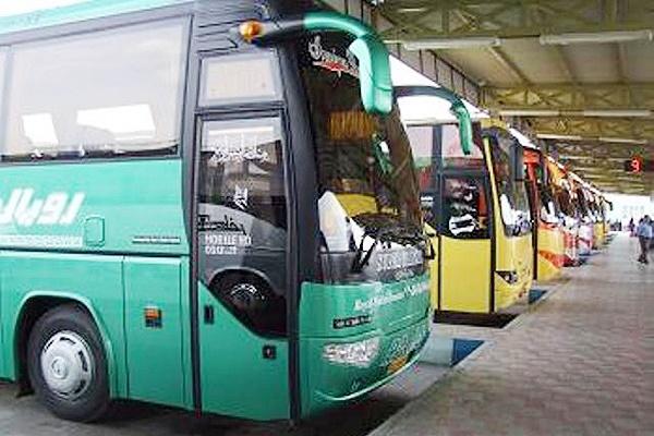 نرخ جدید بلیت اتوبوسهای بین شهری از مبدا تهران