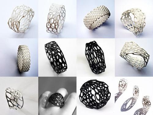 جواهر آلات زینتی هم پرینت میشوند