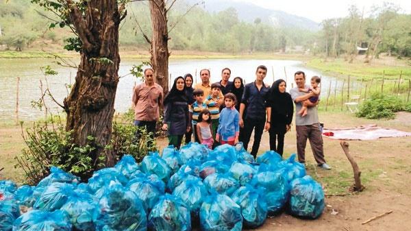 همدلی خانوادگی  برای پاکی محیطزیست