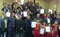 پایان مسابقات قهرمانی کشور آکروژیم در سمنان