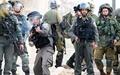 درگیری نظامیان صهیونیست با تظاهرکنندگان فلسطینی