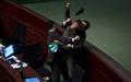 عکس روز: دعوای پارلمانی