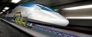 ساخت مسیر آزمایشی سریعترین قطار شهری با سرعت ۱۳۰۰ کیلومتر بر ساعت