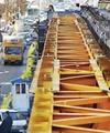 بتنریزی سازه جدید پل ستارخان در هفته جاری