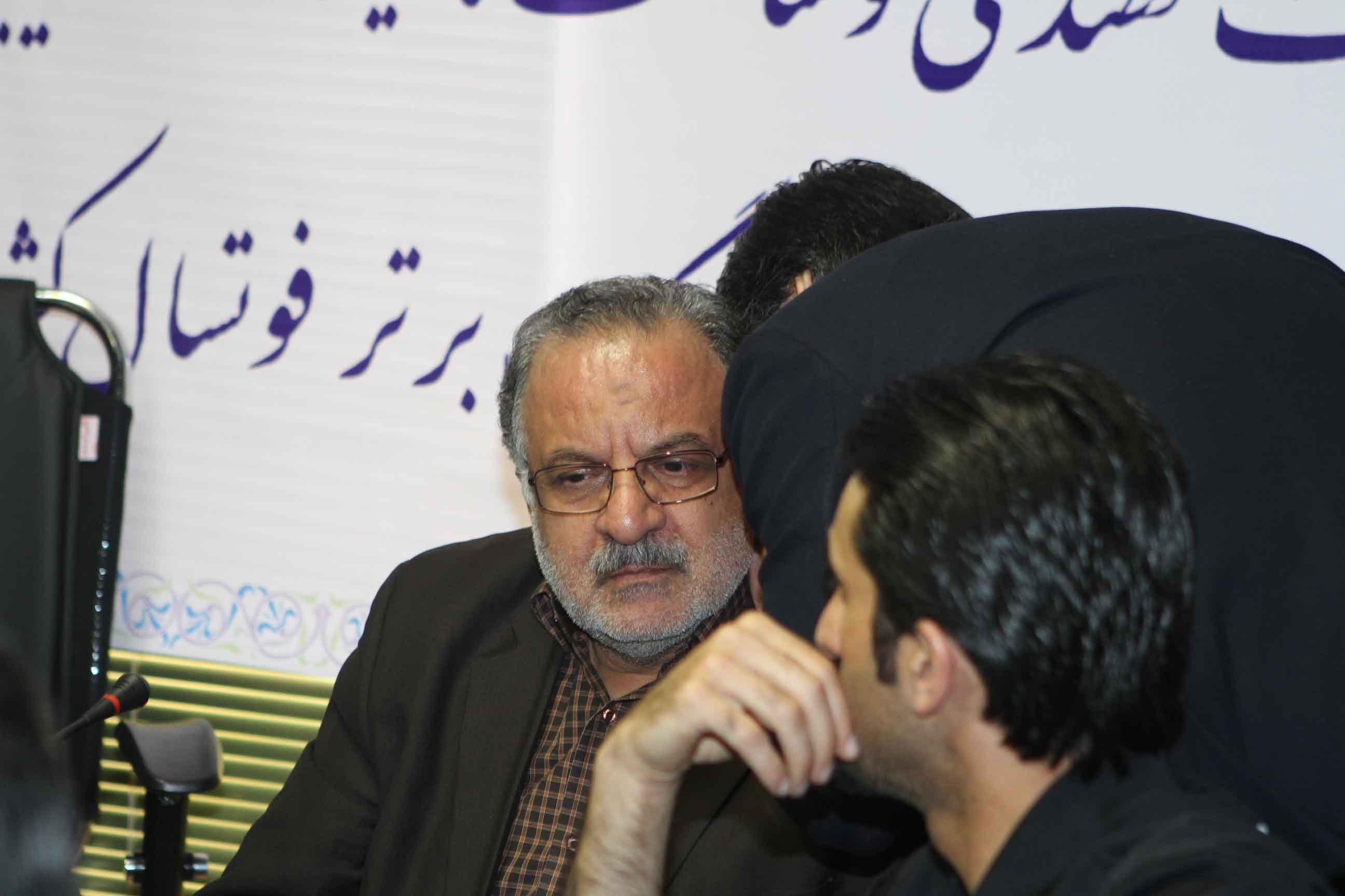 تصاویری از نشست خبری تیم تاسیسات دریایی ایران، قهرمان لیگ برتر فوتسال