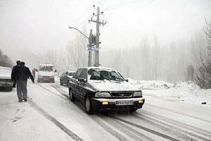 جاده برف