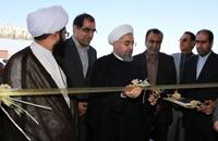 بازدید روحانی از بندر بهمن، نیروگاه مپنا و اسلکه کاوه؛ بیمارستان قشم افتتاح شد