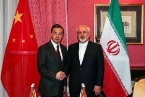 وزاری خارجه ایران و چین