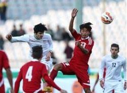 پیروزی پرگل فوتبال امید ایران مقابل افغانستان در مقدماتی انتخابی المپیک
