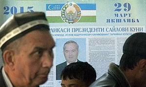 کریم اف  باز هم رئیس جمهور ازبکستان ماند
