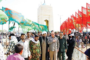 ۳۰ هزار زائر تهرانی از یادمانهای شهدا بازدید کردهاند
