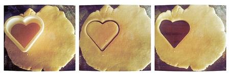 قالب شیرینی قلبی شکل