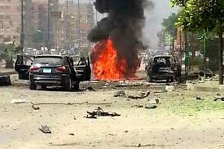 انفجار در مقابل یک فروشگاه فرانسوی در اسکندریه مصر