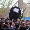 پیکر همسر آیتالله جنتی در تهران تشییع شد