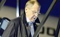 وزیر خارجه روسیه به مذاکرات در لوزان پیوست