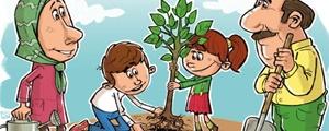 درخت بکارید تربیت درو کنید