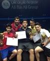 سه مدال برای اسکواشبازان ایران در تورنمنت بینالمللی قطر