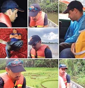 مسافر خوابآلود جنگلهای آمازون