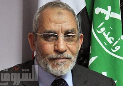 سومین حکم اعدام برای رهبر اخوان المسلمین مصر