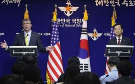 اظهارات ضد و نقیض وزیر دفاع آمریکا در سئول