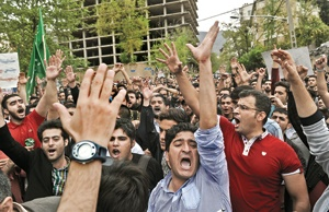 اعتراض کسترده مردم به رفتار سعودی ها