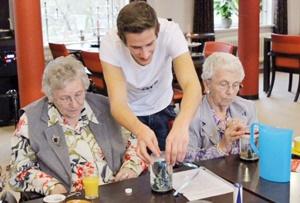 اتاق در ازای همنشینی با سالمندان