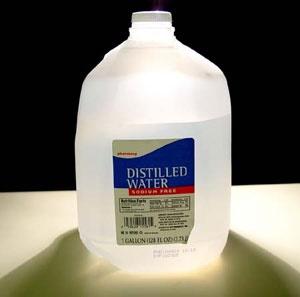 آشنایی با آب مقطر