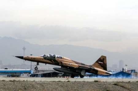 پرواز جنگندههای نیروی هوایی ارتش در آخرین تمرین