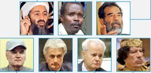 سرنوشت مشترک جنایتکاران جنگی