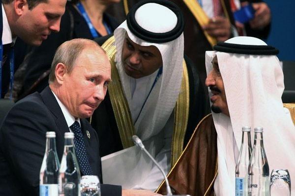 پوتین پادشاه عربستان را به مسکو دعوت کرد