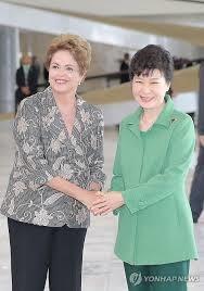 رؤسای جمهور برزیل و کره جنوبی در برازیلیا دیدار کردند
