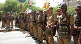 تهدید به حمله انتحاری، پایتخت هند را پادگان کرد